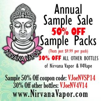 Sample Sale 2014 - Vapor Joe
