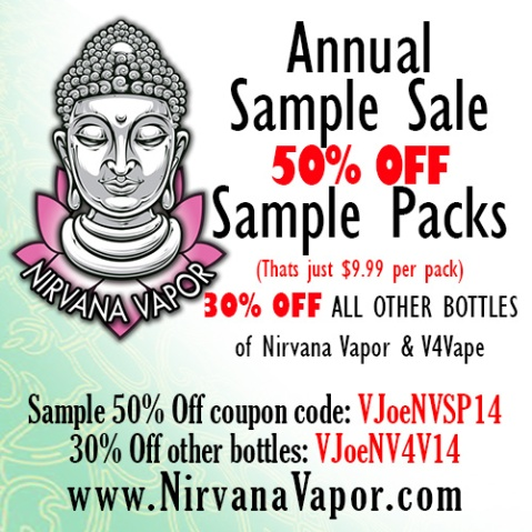 Sample Sale 2014 - Vapor Joe